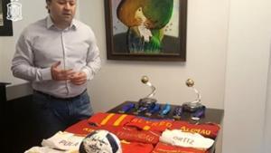 Fede Vidal, seleccionador español de fútbol sala