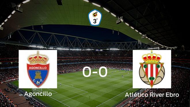 El Agoncillo y el Atlético River Ebro concluyen su enfrentamiento en el San Roque sin goles (0-0)