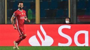 Salah encara solo y no falla: contra perfecta y golazo al Atalanta