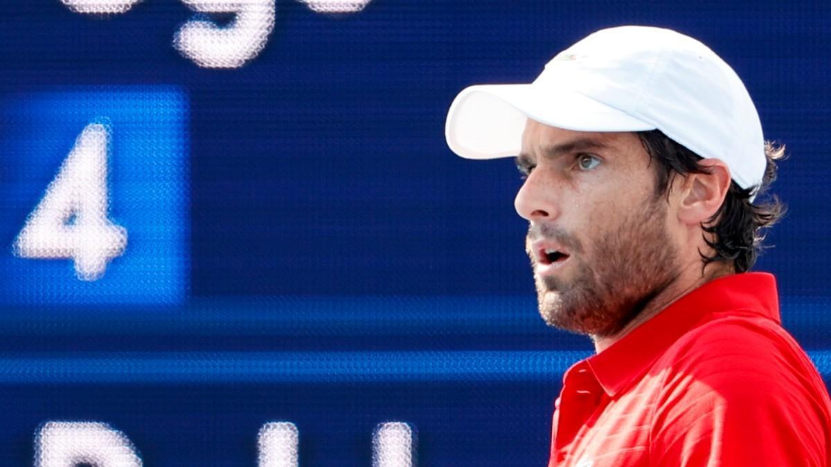 Pablo Andújar pierde en la primera ronda ante Humbert y dice adiós a Tokio
