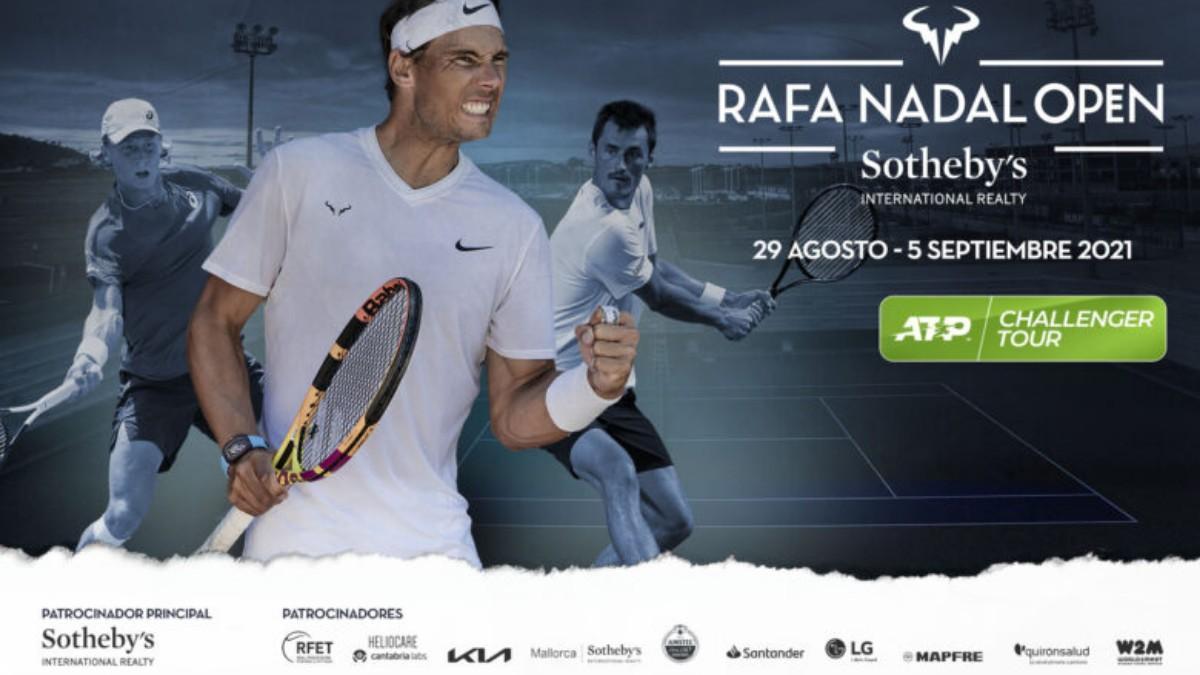 El circuito ATP Challenger Tour vuelve a la Rafa Nadal Academy by Movistar