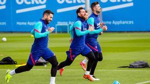 Última hora: el Barça, a por su último entrenamiento en Sevilla