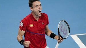 Bautista debuta en la ATP Cup 2021