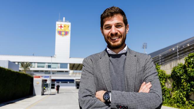 Carlos Martín, director de la Barça Academy