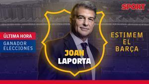 Laporta, nuevo presidente del FC Barcelona