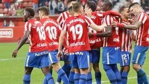 El resumen del partido entre el Sporting y el Alcorcón