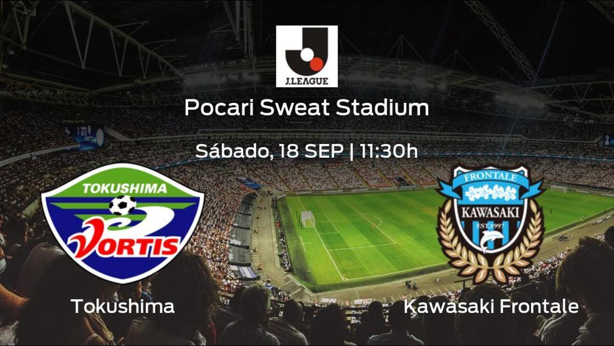 Previa del encuentro: el Kawasaki Frontale defiende su liderato ante el Tokushima Vortis