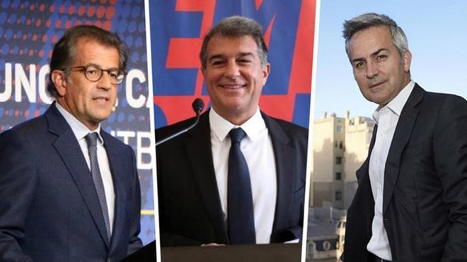 Toni Freixa, Joan Laporta y Víctor Font mantendrán un cara a cara este domingo en el marco del Congreso Mundial de Peñas