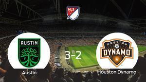 El Austin FC consigue los tres puntos frente al Houston Dynamo (3-2)