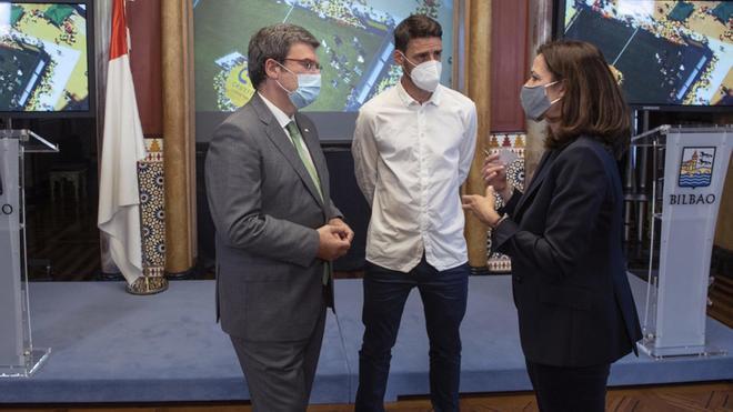 Aduriz dará nombre a un Cruyff Court que se construirá en Bilbao