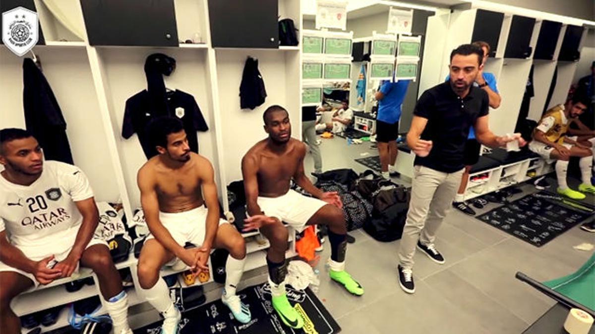 ¡Emocionante! Así fue el debut de Xavi como entrenador