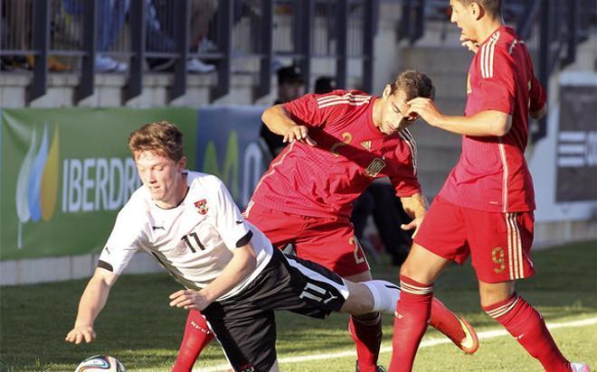 España empató en un partido intrascendente