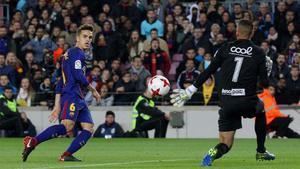 LACOPA   FC Barcelona - Murcia (5-0): El gol de Denis Suárez