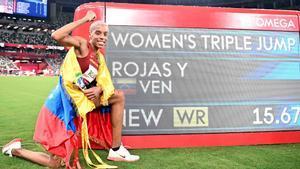 Yulimar Rojas hizo historia en los Juegos de Tokio