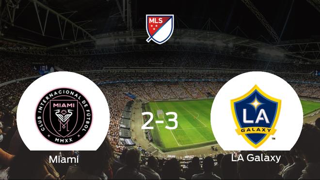 El LA Galaxy deja sin sumar puntos al Inter de Miami (2-3)