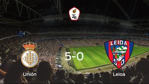 Los tres puntos se quedan en casa: goleada del Real Unión de Irún al Leioa (5-0)