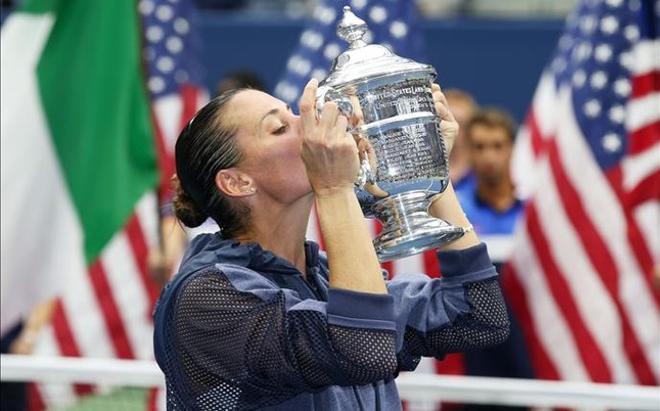 Flavia Pennetta anunció tras ganar el US Open que se retira a final de año