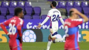 El Valladolid deja sin los 3 puntos al Elche sobre la bocina