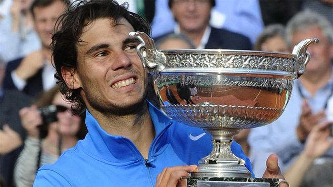 Rafa Nadal, ganador de Roland Garros (2011)