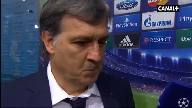 Martino, feliz por el triunfo del Barça