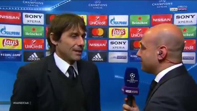 Conte elogió a Messi tras el Barça-Chelsea