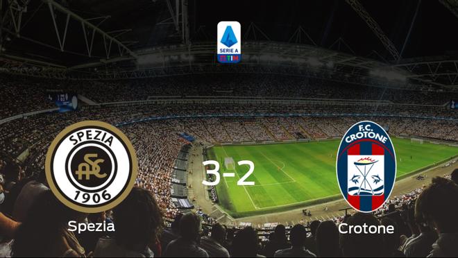 Los tres puntos se quedan en casa: Spezia Calcio 3-2 Crotone