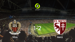 El FC Metz deja sin sumar puntos al OGC Niza (1-2)