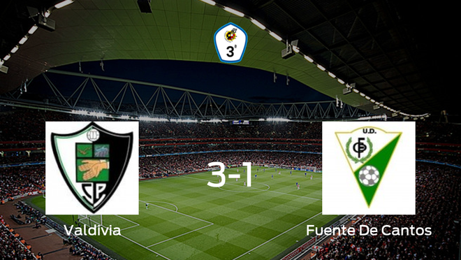 Triunfo del Valdivia ante la UD Fuente De Cantos (3-1)