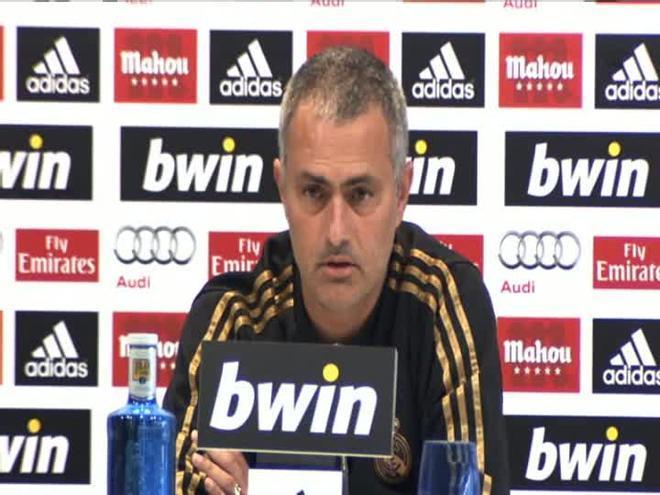 Mourinho habló del desgaste a su manera