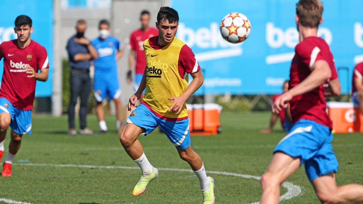 Penúltimo entrenamiento del Barça antes de enfrentarse al Benfica