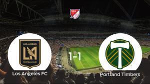 Reparto de puntos entre el Los Angeles FC y el Portland Timbers (1-1)