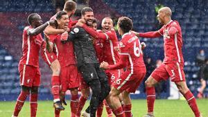 El Liverpool obra el milagro ante el West Brom gracias a un gol... ¡de Alisson!