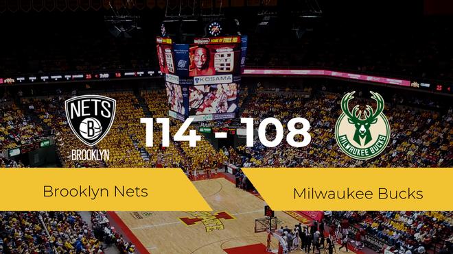 Triunfo de Brooklyn Nets ante Milwaukee Bucks por 114-108
