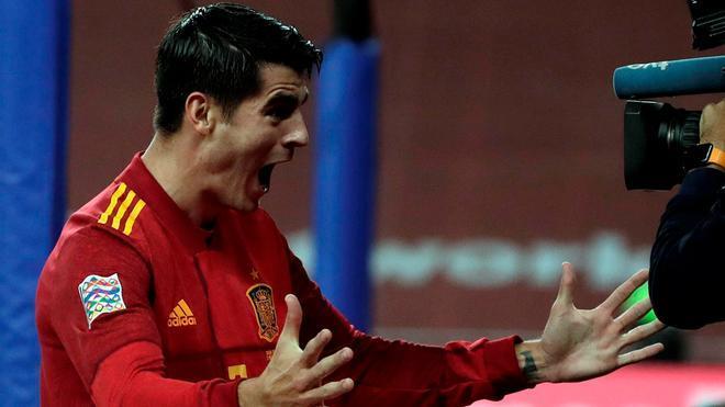Morata: Si le tengo yo que recomendar a Ramos...