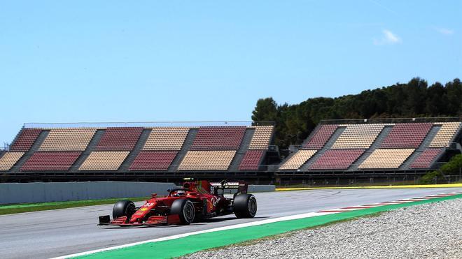 Carlos Sainz espera un GP de España muy intenso y lamenta la falta de público
