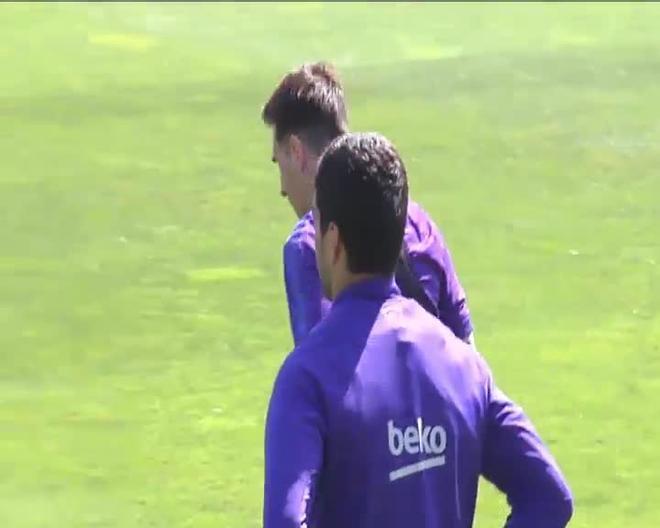 Entrenamiento Barça