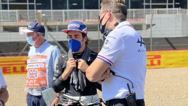 Alonso está convenciendo en su regreso a la F1