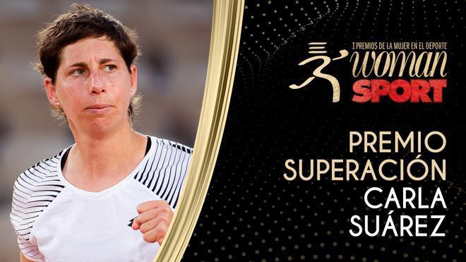 Premio Superación: Carla Suárez, una victoria en el partido contra el cáncer
