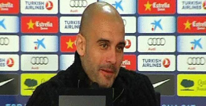 Guardiola, en la rueda de prensa previa al partido ante Osasuna