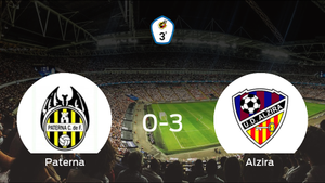 El Alzira se lleva los tres puntos a casa tras golear al Paterna (0-3)