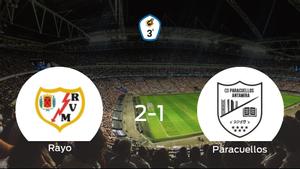 El Rayo B suma tres puntos después de derrotar 2-1 al Paracuellos Antamira