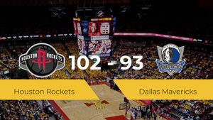 Houston Rockets consigue la victoria frente a Dallas Mavericks por 102-93
