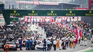 Parrilla de salida en Le Mans