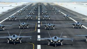 El jefe de la Fuerza Aérea quiere aumentar la rapidez de acción de sus aviones