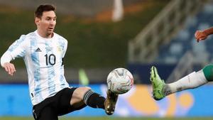 Leo Messi encara a Ecuador en los cuartos de final de la Copa América