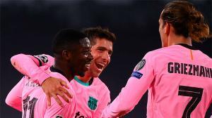 Dembélé mostró su mejor cara ante la Juventus