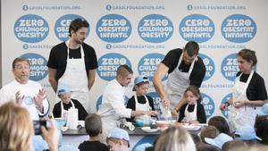 charla Azul animal  Gasol Foundation y Nike impulsan proyecto para combatir la obesidad infantil