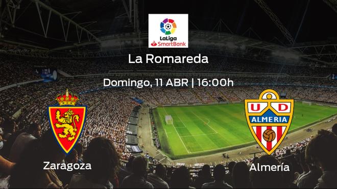 Previa del encuentro de la jornada 34: Real Zaragoza - Almería