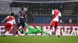 El resumen de la derrota del PSG ante el Mónaco