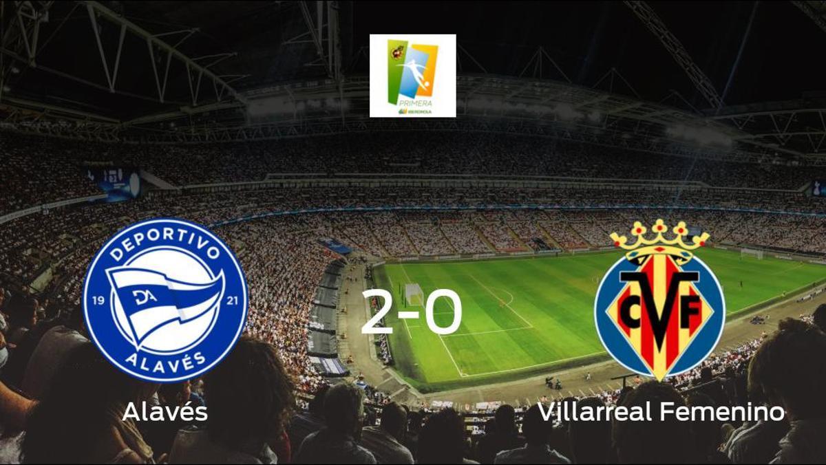 El Alavés Gloriosas se queda con la victoria frente al Villarreal Femenino (2-0)